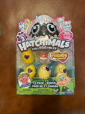 Hatchimals CollEGGtibles Season 3 - 4pk + Bonus (Styles & Colors May Vary)