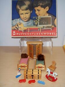 Vintage Germany Vero Puppenstuben Mobel Dollhouse
