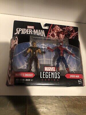 """Marvel Legends 3.75"""" Figures 2-pack Shoker & Spider-Man - Spider-Man Homecoming"""