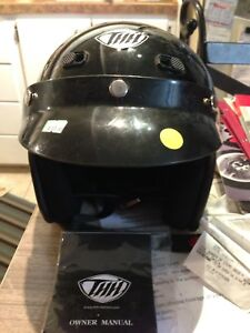 Child or xs adult open face helmet