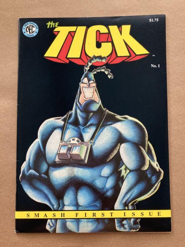 The Tick 1, 1st Print, 1988, NEC Comics New England Ben Edlund LOW PRINT RUN VF-