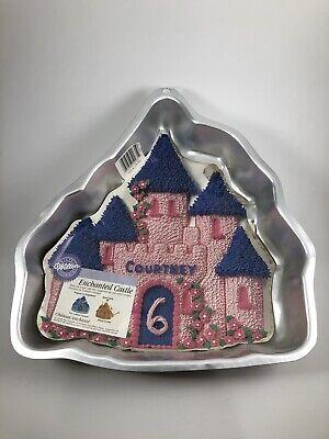 Wilton Enchanted Castle looks like Disney cake pan Princess Birthday party](Birthday Cake Pans)
