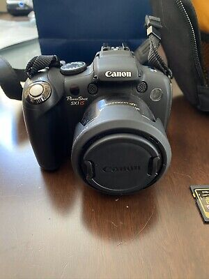 Canon PowerShot SX1 IS 10.0MP Digital Camera - Black