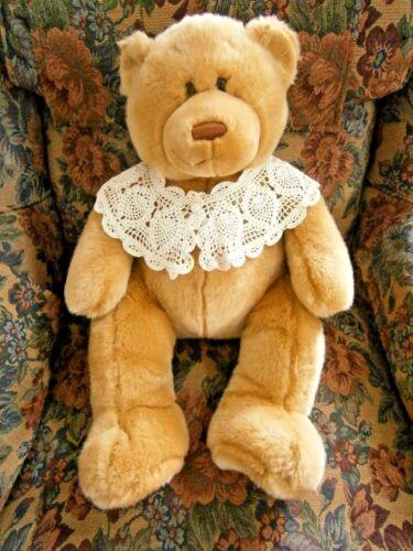 "Animal Alley Large 22"" Teddy Bear 2000 Plush Stuffed Soft Lovey Light Brown Tan"