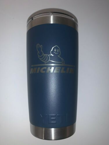 Brand New Michelin Promotional 20z Yeti Rambler with Mag Slider Lid - Very Rare