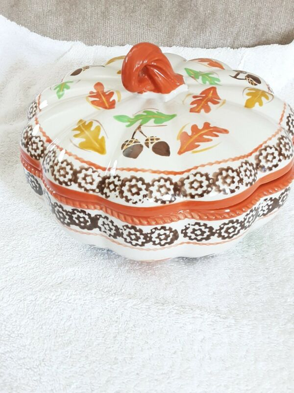 Temp-tations Old World Harvest 2 Qt Casserole with Lid
