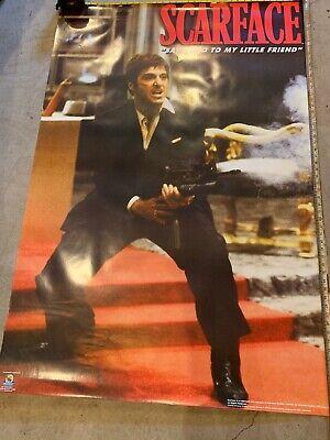 "scarface poster- XL 59""x 40"", Tony Montana , Al Pacino ,"