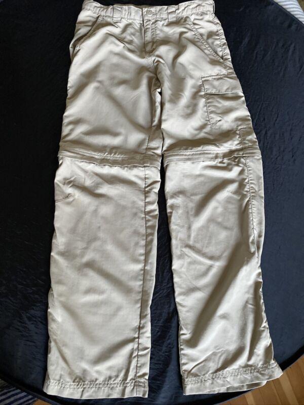 Columbia Sportswear Hiking Pants Convertible Boys Medium Zip Adjustable