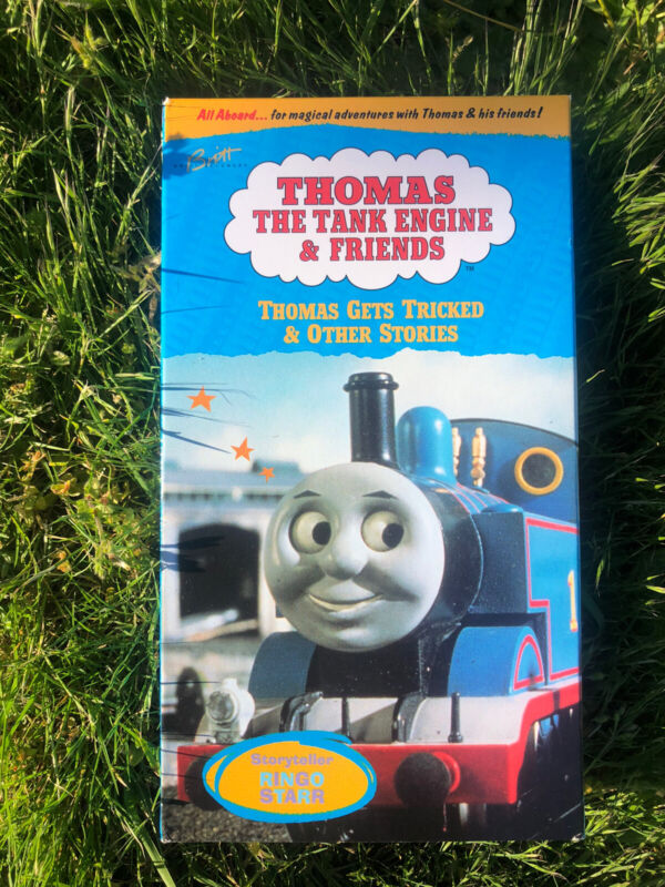 THOMAS GETS TRICKED & OTHER STORIES VHS Tape The Tank Engine Children