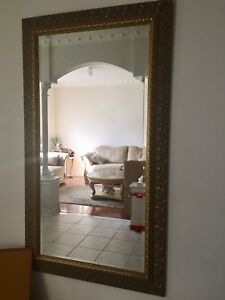 Large oversized mirror