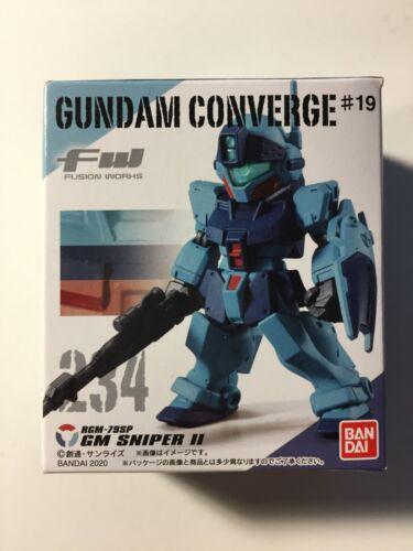 Fw Gundam Converge #19 234 GM Sniper II 2 US Seller