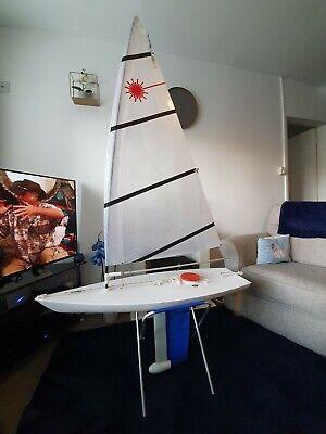 laser rc yacht