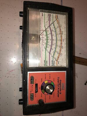 Vintage ASI Diagnostic & Tune-Up Analyzer Garage Car Mechanic Tool