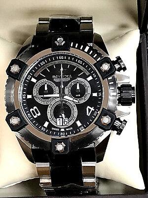 Invicta 0338 Reserve Arsenal Big Date Chronograph Men's Quartz Watch WARRANTY