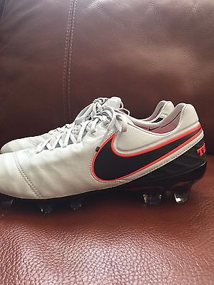 a431040e234 Nike Tiempo Legend VI FG Soccer Cleats Platinum Black Silver SZ 8  (819177-001)
