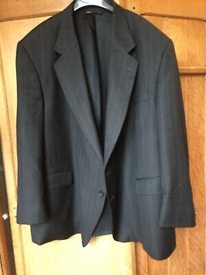 Mens Jack Victor Rochester Big & Tall Wool Jacket, Size 56 Chest Short Fit