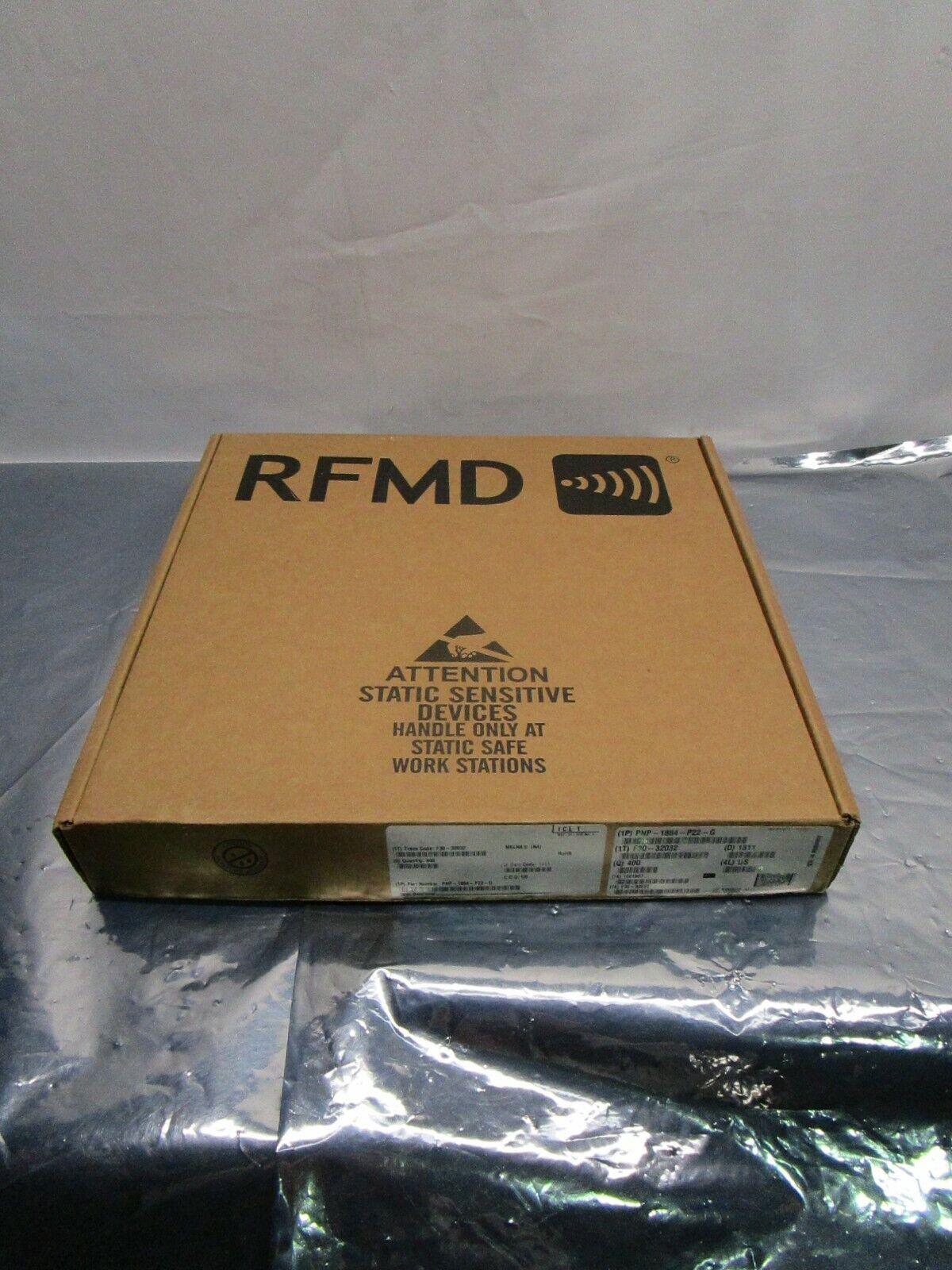 1 Lot of 400 RFMD QORVO PNP-1884-P22-G SYNTHESIZER 1700-2000 MHZ, 102656