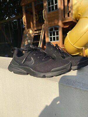 Men's Nike Presto Fly Black Size 6