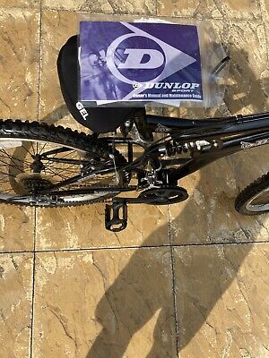 ADULT MOUNTAIN BIKE Hector Dunlop FULL SUSPENSION- With Manuals, Paperwork  Etcc