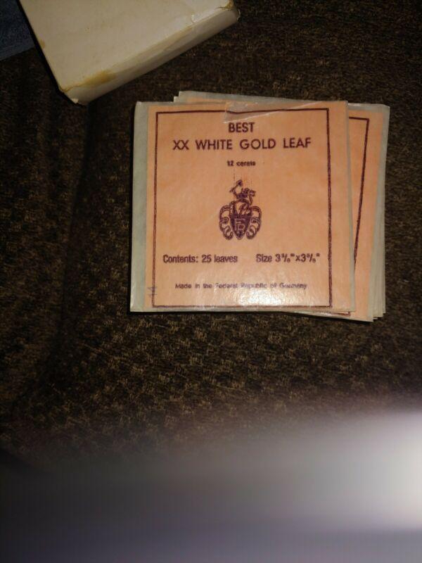 Best Xx White gold leaf