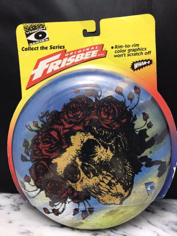 Vintage Grateful Dead Skull Roses Wham-O Frisbee 1997 GDM -NEW
