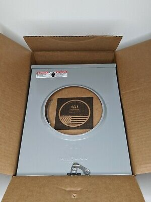 Milbank 200-amp Ring Less Single Phase 120240 Meter Socket R7040-rl-tg-kk-rge