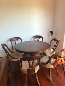 Dining chairs Victorian balloon back 6 Cronulla Sutherland Area Preview