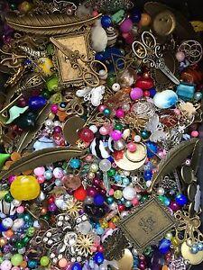 500g Chaosmischung Chaostüte Perlen Zubehör Basteln Mischung Set verschiedene