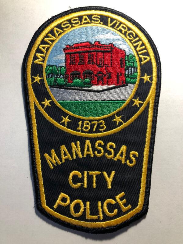 Manassas City Virginia Police Patch