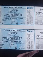 2xEMIRATES MELBOURNE CUP GRANDSTAND TICKETS hard copy Como South Perth Area Preview