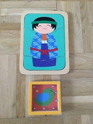 Holzspielzeug,Puzzle&Geschicklichkeitsspiel
