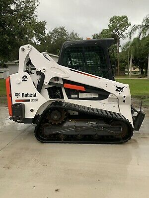 2016 Bobcat T595 2 Speed Compact Track Loader Joystick Air Condition Cab