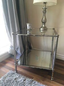 Stunning Glass & Mirrored Table