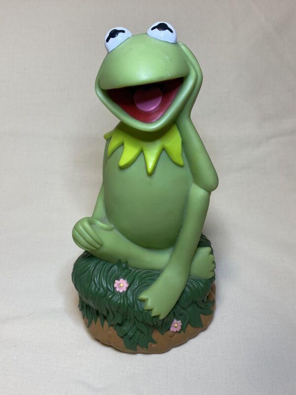 Vintage Applause Kermit the Frog Piggy Bank Jim Henson Muppets