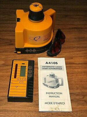 Agatec A410s Automatic Construction Laser Sold As Laserjamb Q Pro