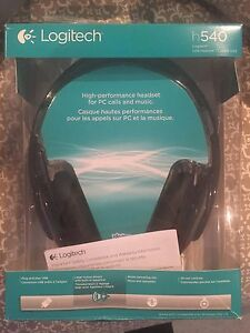 Logitech h540 USB Headset with mic