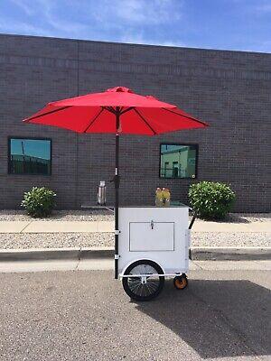 Coffee Cart Food Lemonade Ice Cream Retail Push Cart