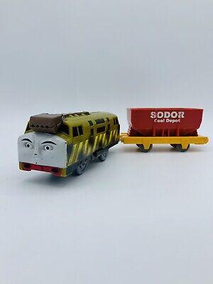 **PLEASE READ! DIESEL 10 Coal Dust Thomas & Friends Trackmaster Motorized Train
