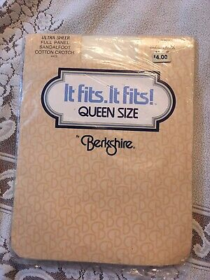 Berkshire, Queen Size, Ivory, Size 1X-2X, Pantyhose