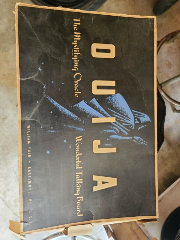Vintage Classic Ouija Board Game
