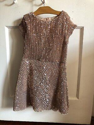 Shine Gold Dress For Girls](Gold Dress For Girl)