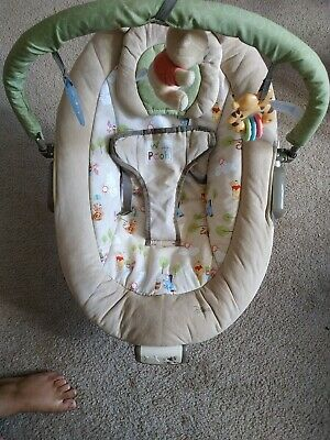 Safety 1st Disney Baby Winnie The Pooh Snug Fit Folding Infant Seat ✓NO SHIPPING