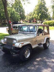 1995 1/2 Jeep YJ Sahara
