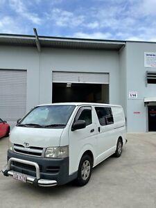 Toyota Hiace Carpet Cleaning Van with Truckmount Setup