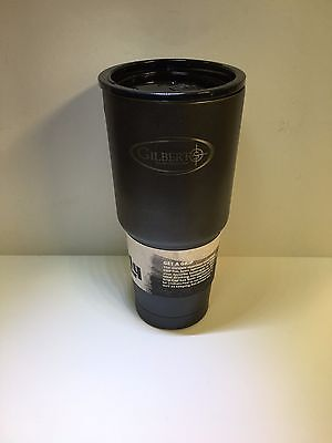 Grizzly Coolers Grip Cup Tumbler 32 oz Charcoal Textured Stainless Gilberts Logo 32 Oz Cooler