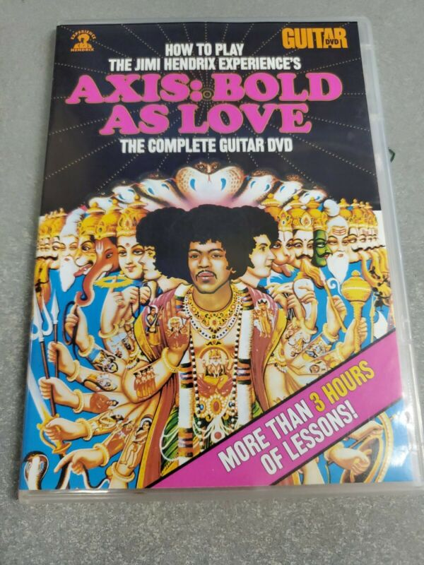 Andy Aledort: Jimi HENDRIX Axis: Bold as Love Guitar DVD Used
