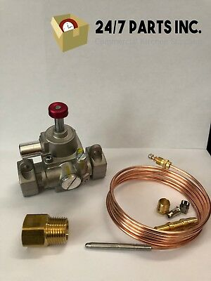 Fmea Safety Valve Kit -replaces Bakers Pride M1104a Models Y600 Ds805 Others