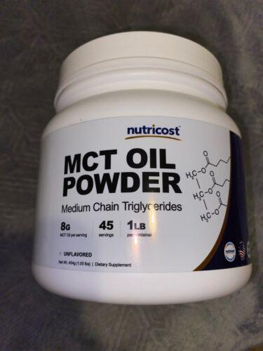 Nutricost MCT Oil Powder  - Premium MCT Oil, Non-GMO, Gluten