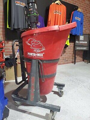 Portamix Hippo Cement Mixer Transport Easy Pour