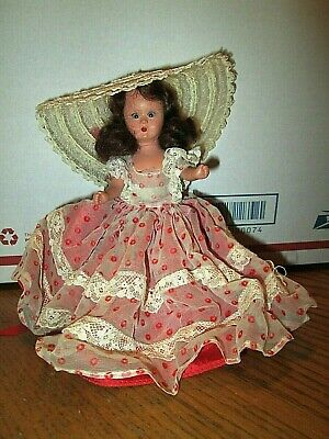 Vintage Nancy Ann StoryBook Doll * hard plastic,eyes move